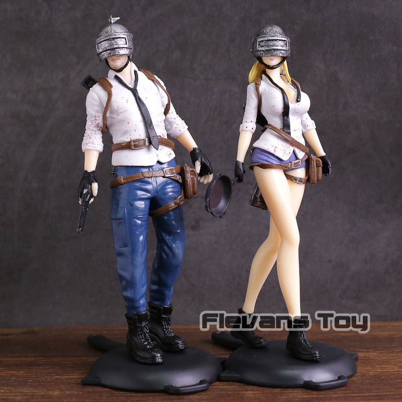 Sıcak Oyun PUBG Playerunknown &39;BattleGrounds PVC Action Figure Koleksiyon Model Oyuncak